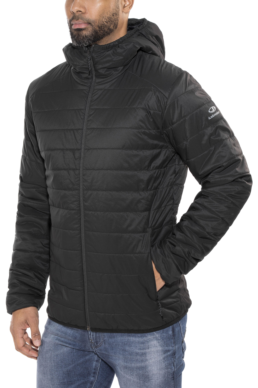 3cbf3a6cb8 Icebreaker Hyperia Hooded Jacket Men black | campz.ch